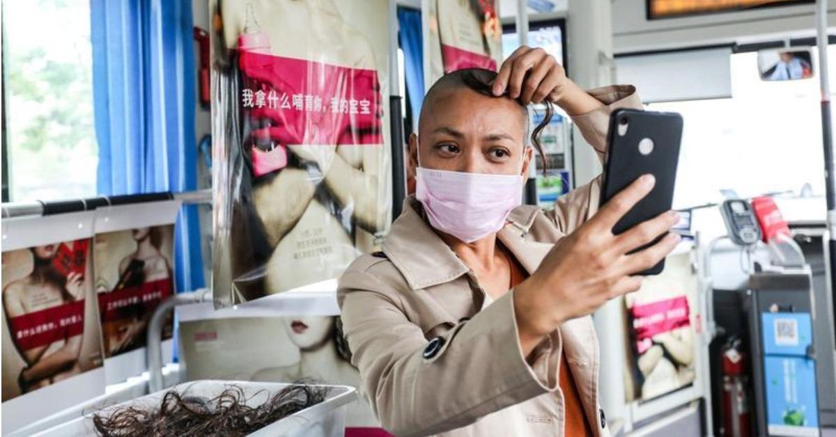 當代中國-中國新聞-癌症病患解憂假髮店