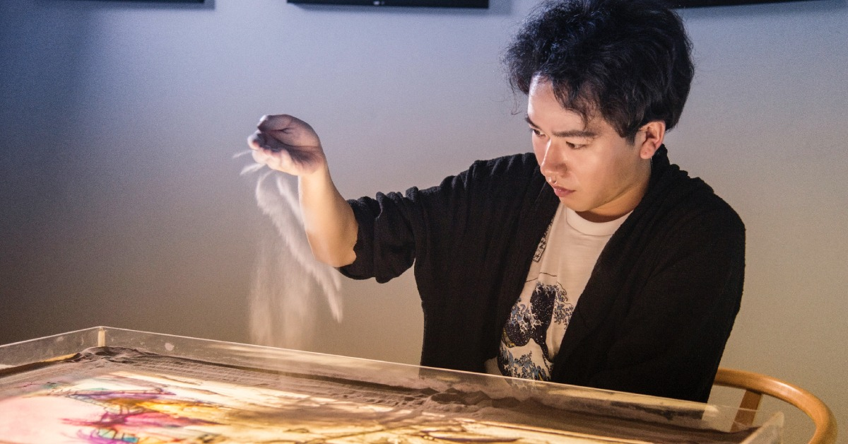 中國文化-沙畫