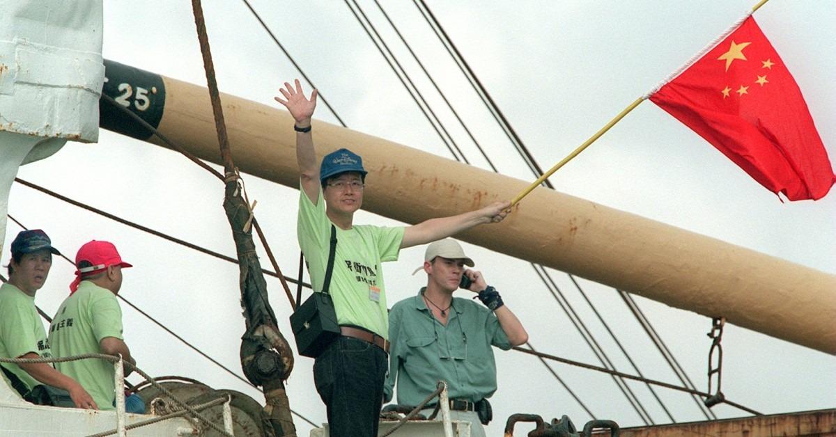 當代中國-飛凡香港-源於愛國的香港保釣運動