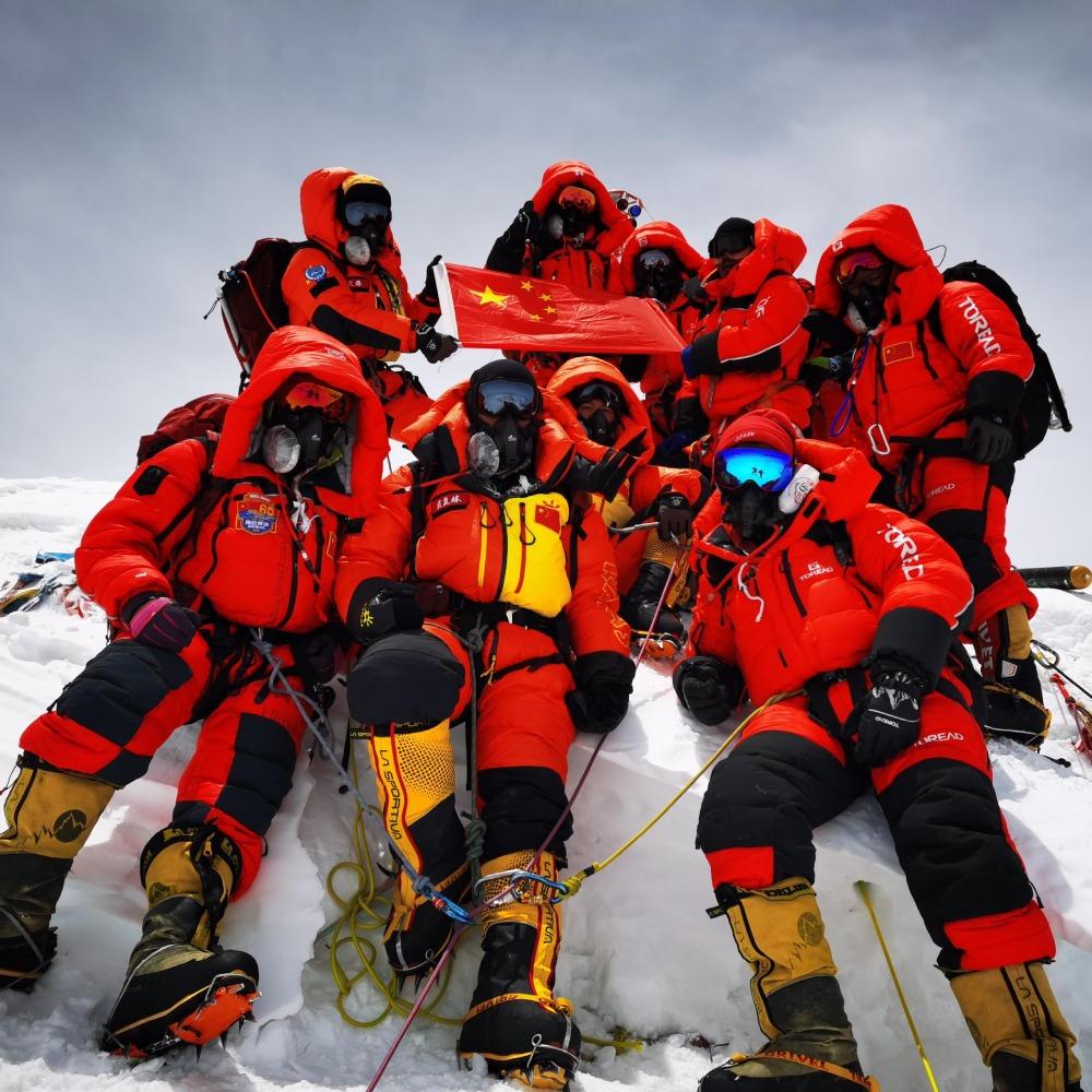 珠穆朗瑪峰新高度