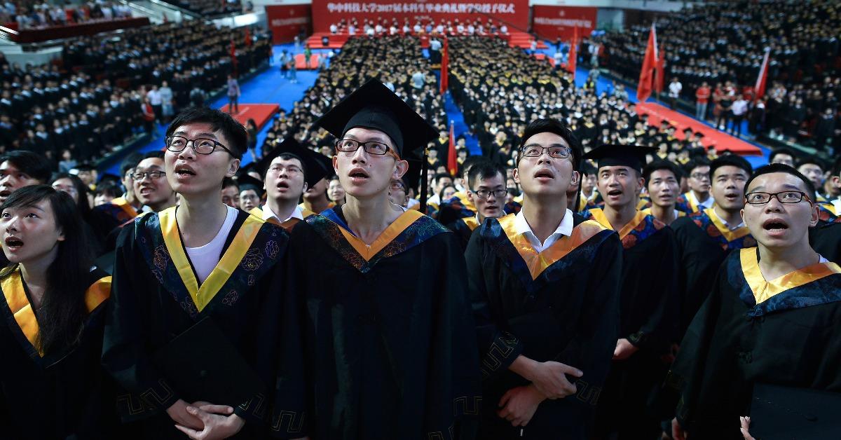 當代中國-中國大學-武漢在校生