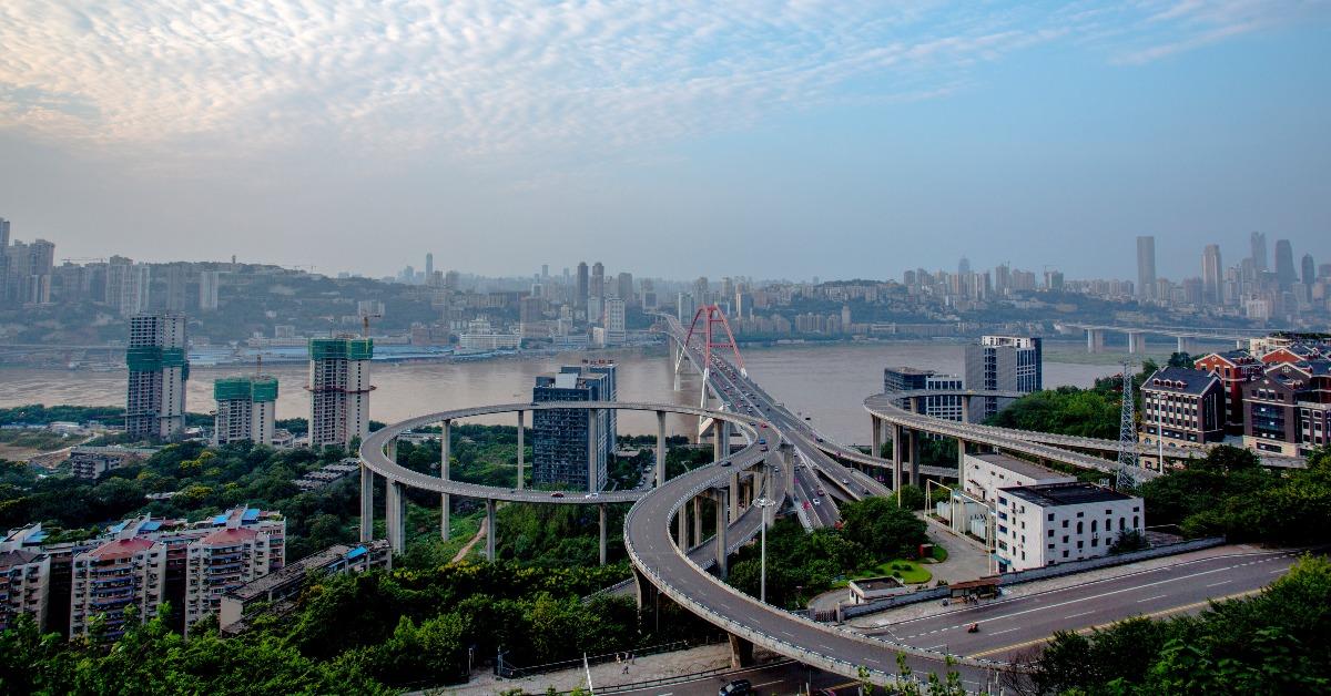 當代中國-橋樑最多-重慶