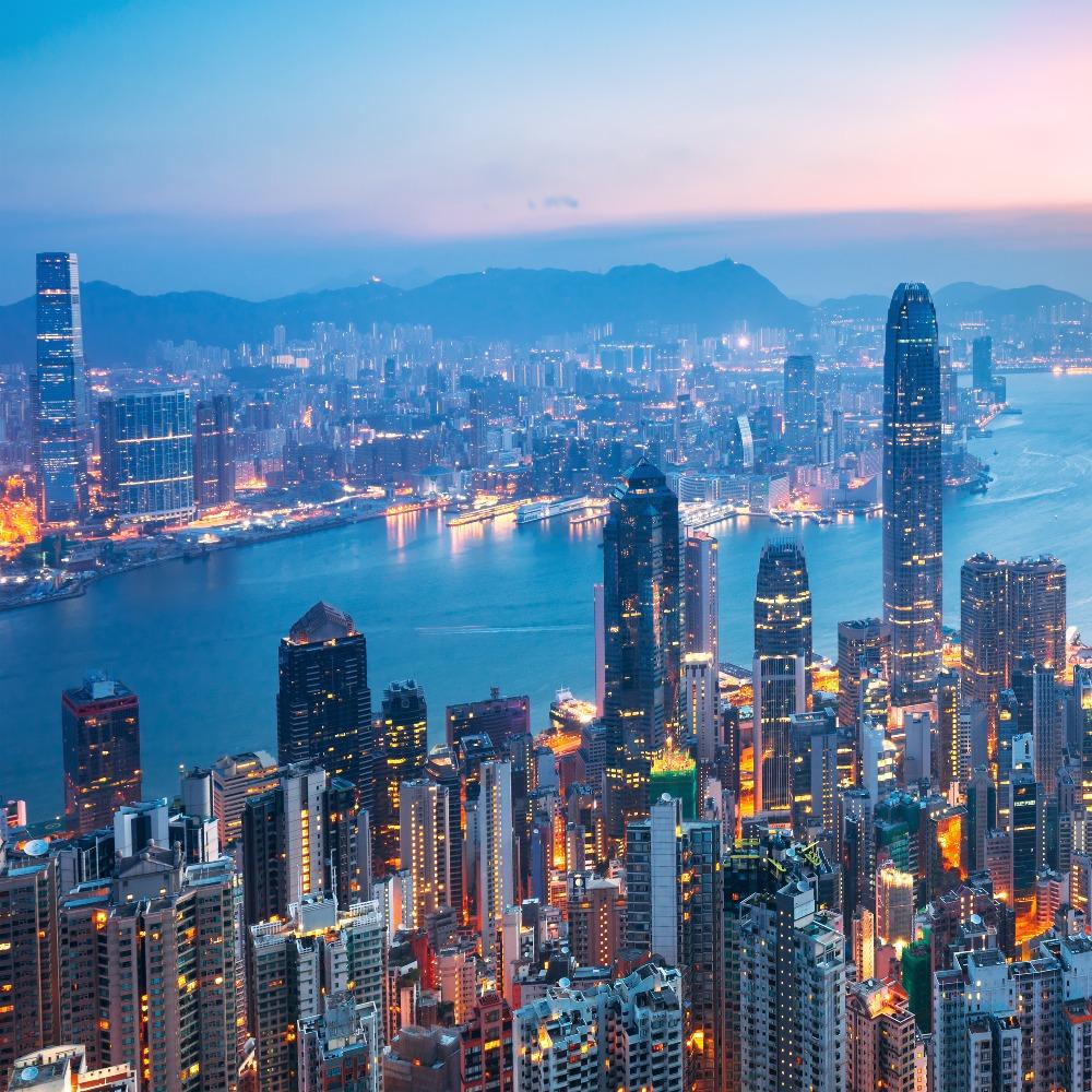 當代中國-香港摩天大樓