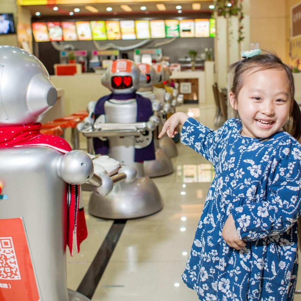 當代中國-粵港澳大灣區-一小時生活圈-人工智能機器人餐廳cover