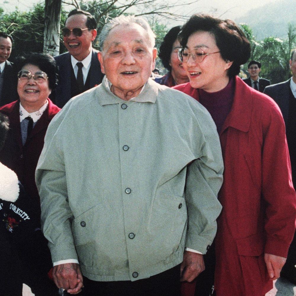 當代中國-改革開放-鄧小平南巡