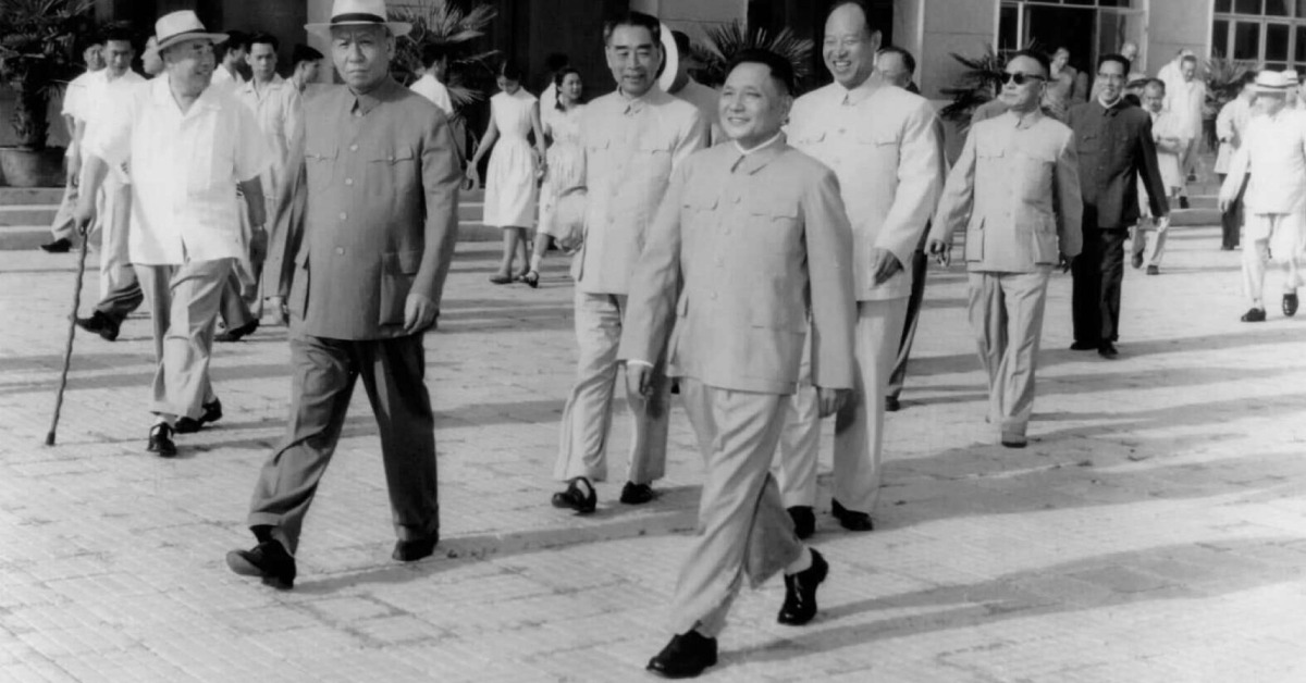當代中國-改革開放-不搞爭論我的一個發明不爭論是為了爭取時間幹