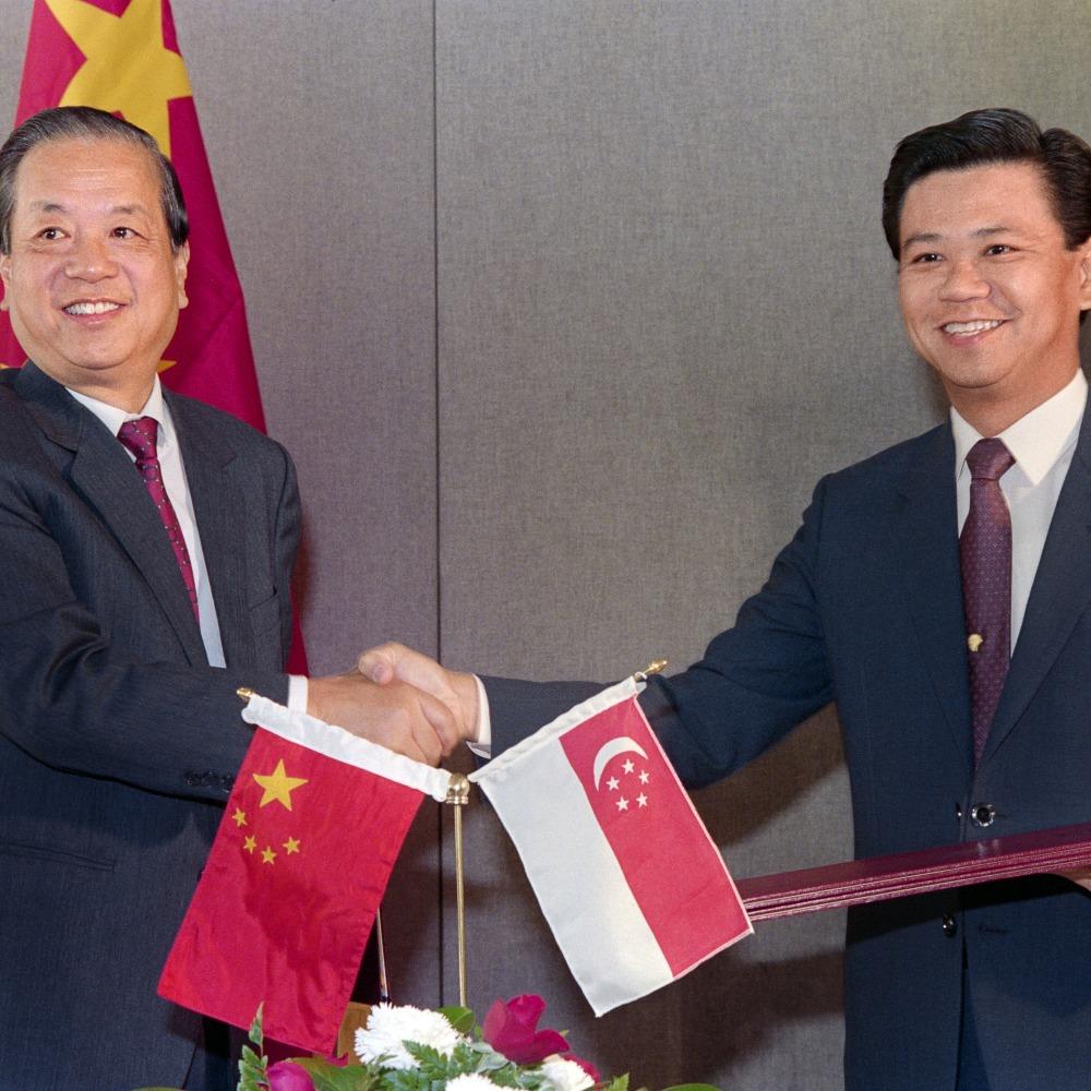 當代中國-改革開放-改革開放外交重臣錢其琛改善中蘇關係