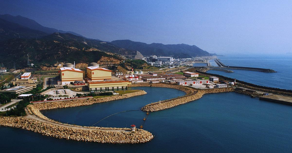 當代中國-改革開放-改革開放建大亞灣核電站應付經濟起飛電力需求