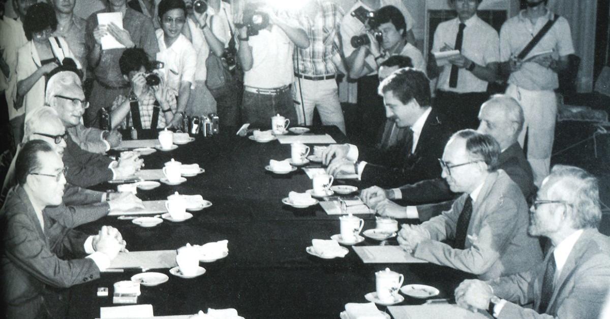 當代中國-改革開放-回顧「1997」中英判談香港前途