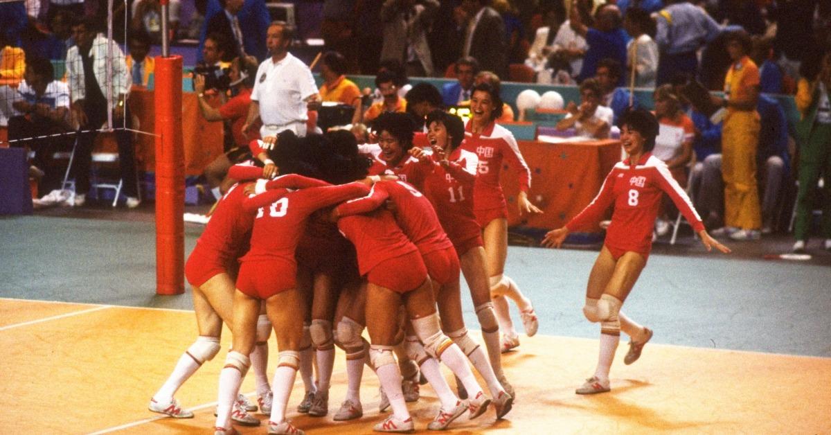 當代中國-改革開放-重溫改革開放後1984年奧運中國奪金的難忘畫面