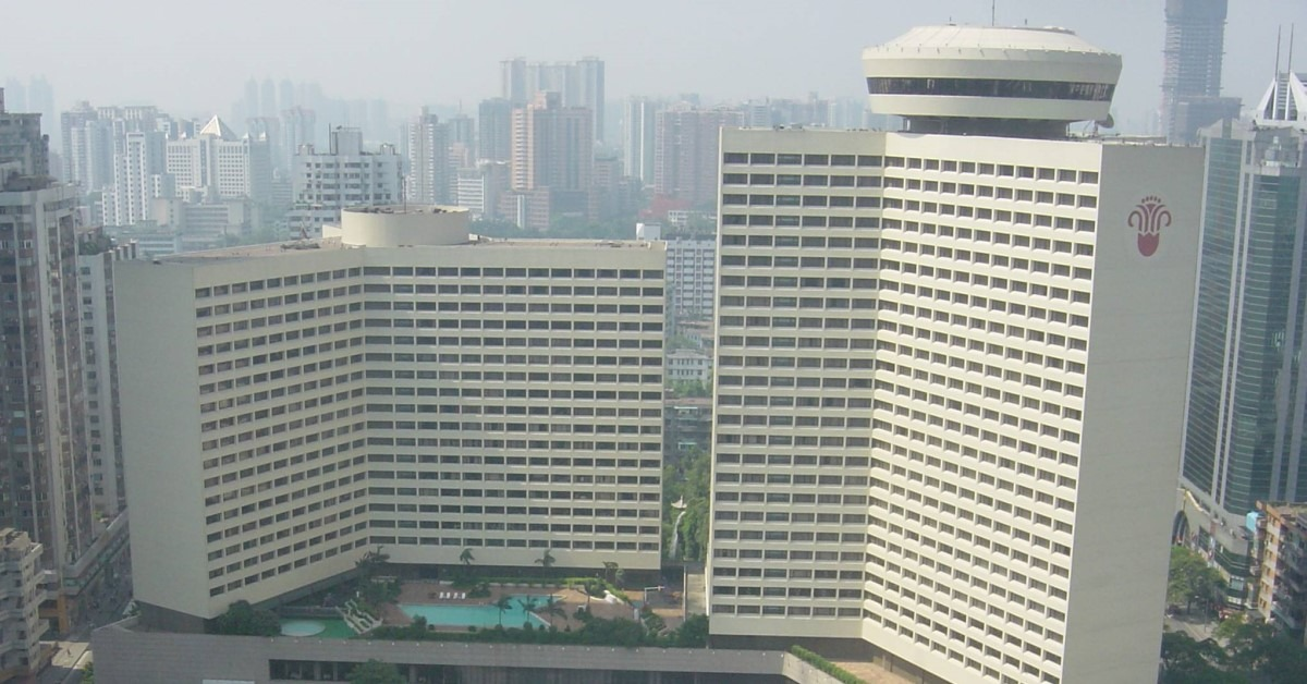 當代中國-改革開放-改革開放引進外資合作當年今日五星級花園酒店開幕