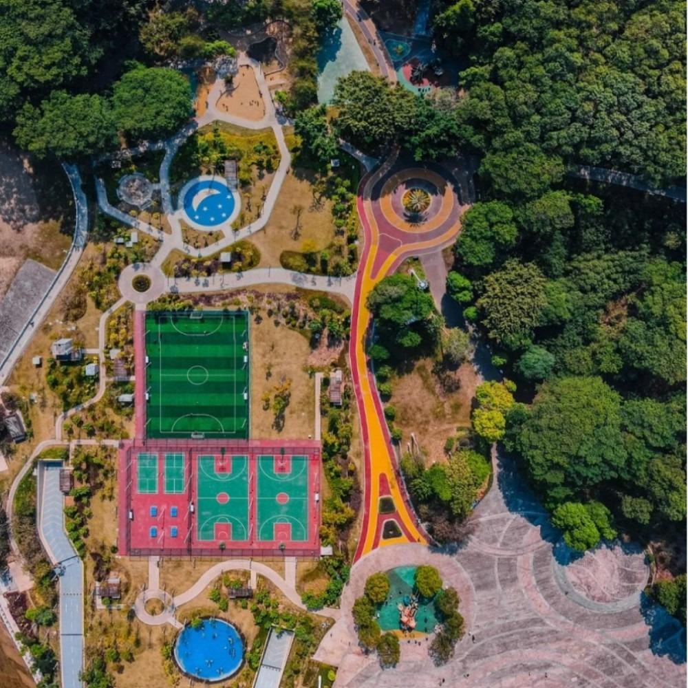 當代中國-粵港澳大灣區-樂活灣區-直通廣州-廣州口袋公園cover