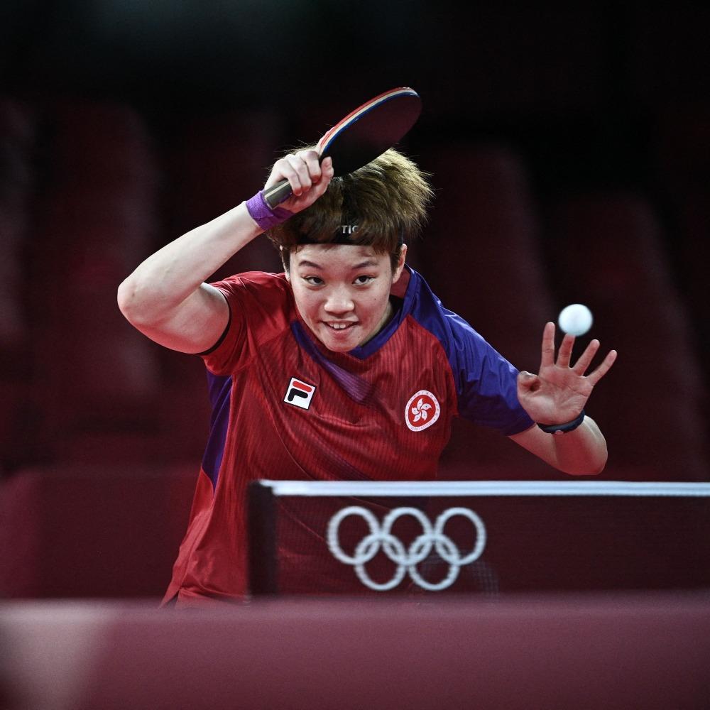 當代中國-體育運動-乒乓女團闖奧運4強港產小將為香港創歷史