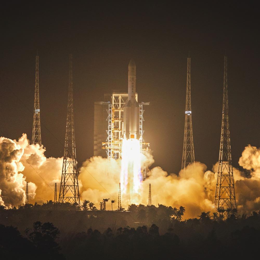 當代中國-嫦娥五號升空