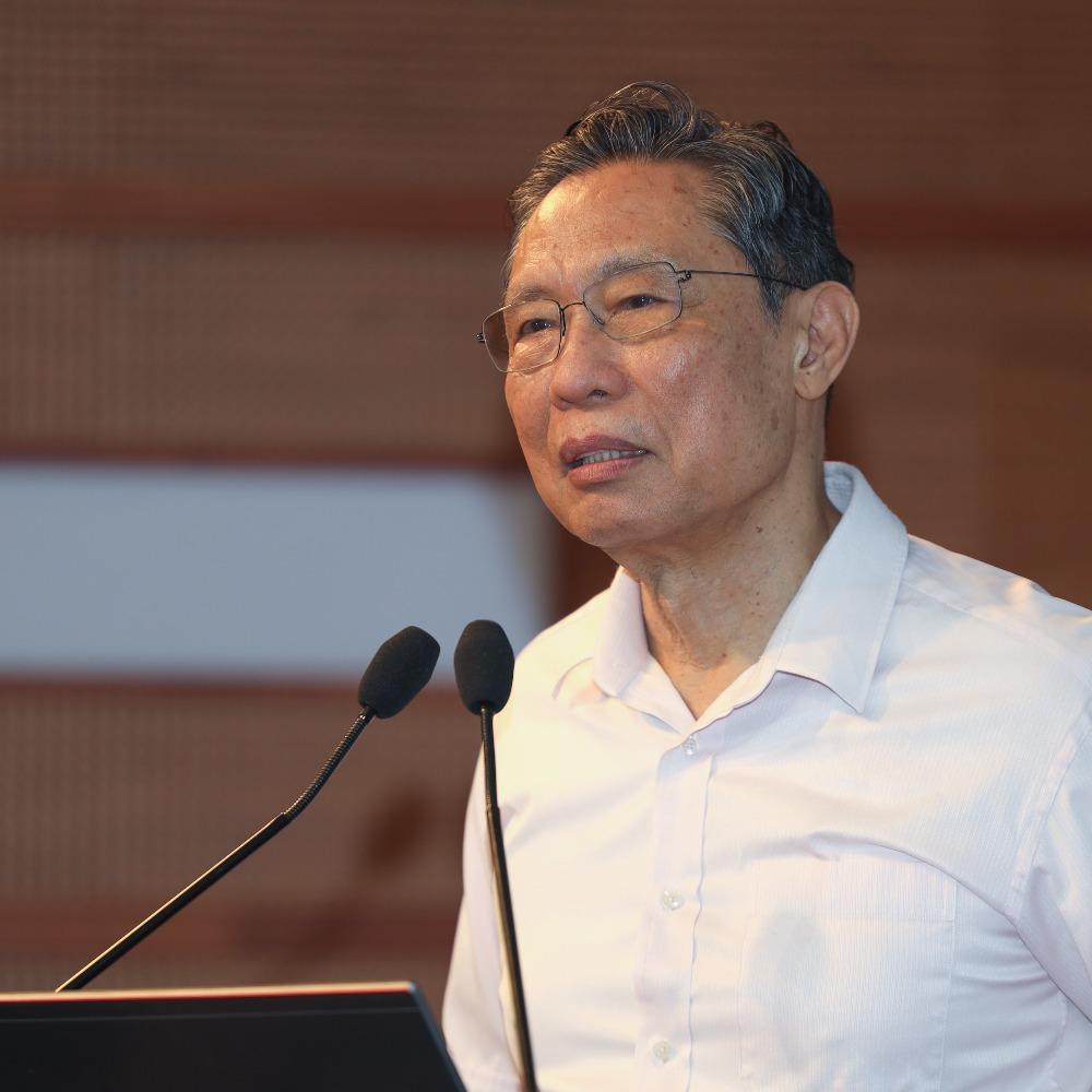 當代中國-鍾南山-港急需全民檢測切斷傳播鏈