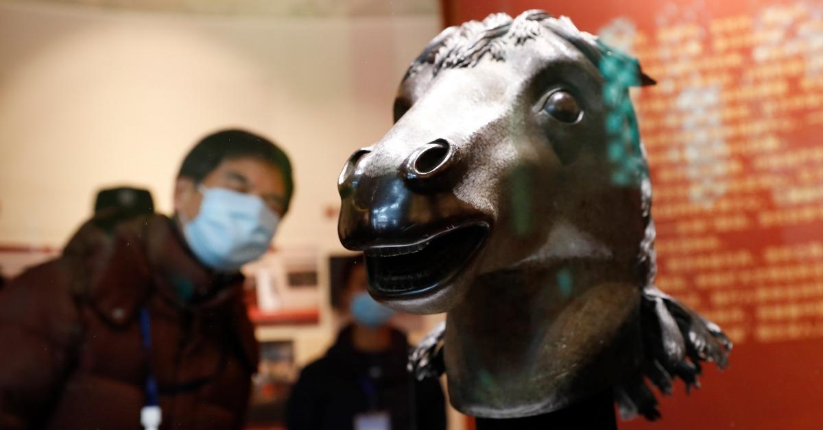 當代中國-圓明園馬首回歸