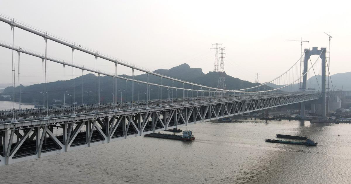 焦點中國-今日熱話-五峰山長江大橋