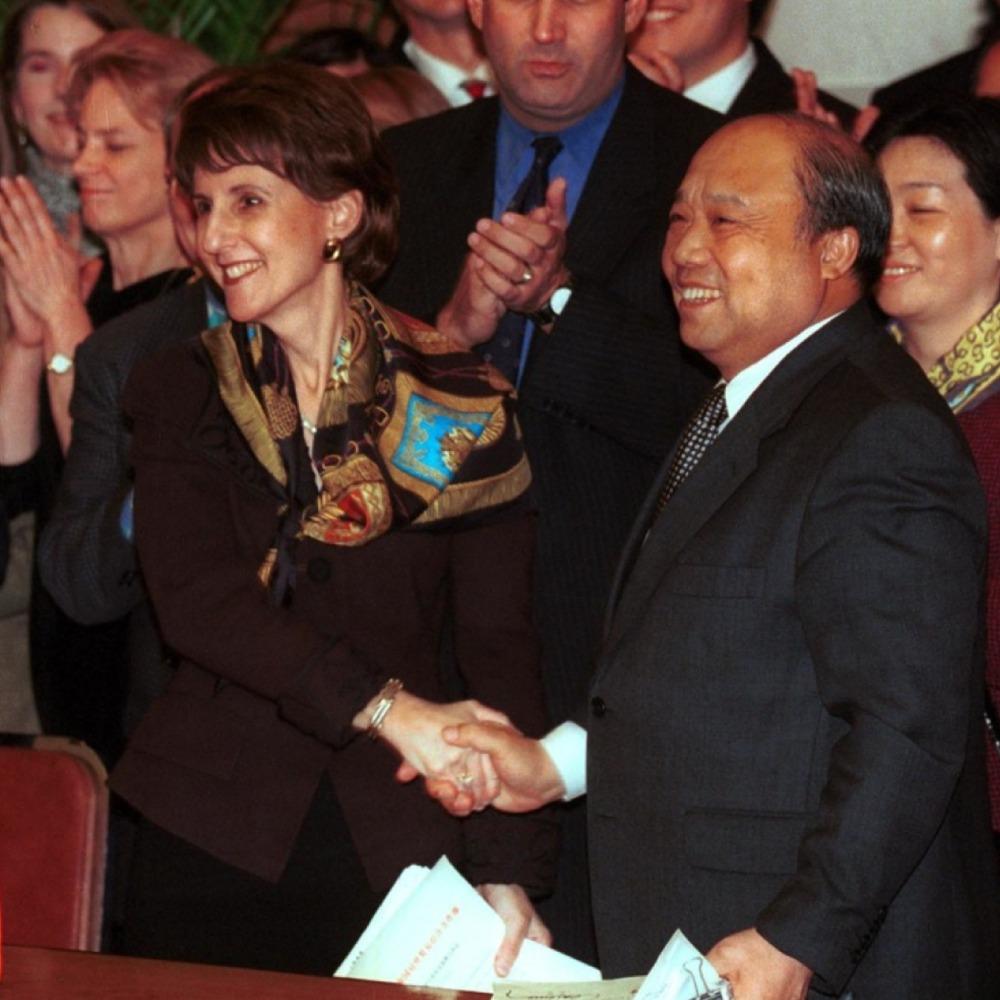 當代中國-當年今日-中美WTO