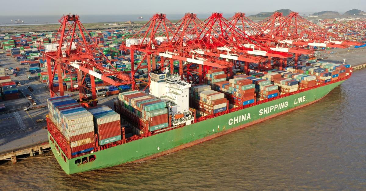 當代中國-當年今日-上海港