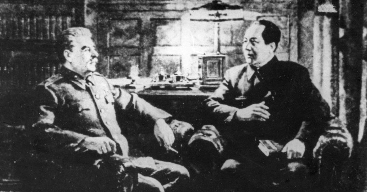 當代中國-當年今日-毛澤東訪蘇聯