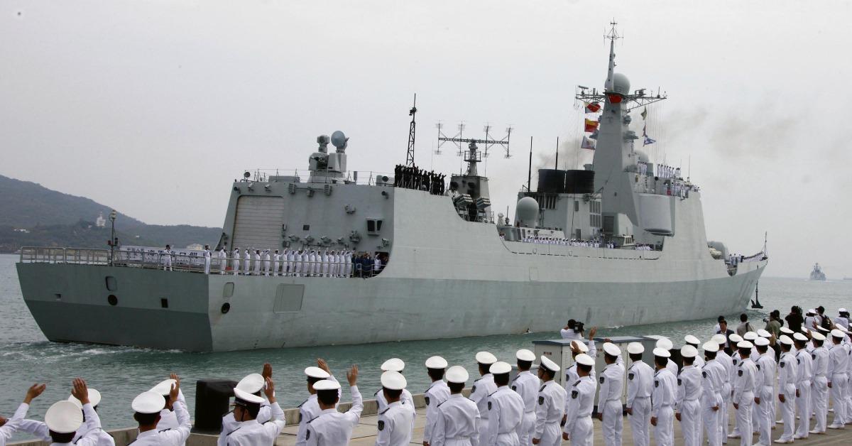 當代中國-當年今日-護航艦
