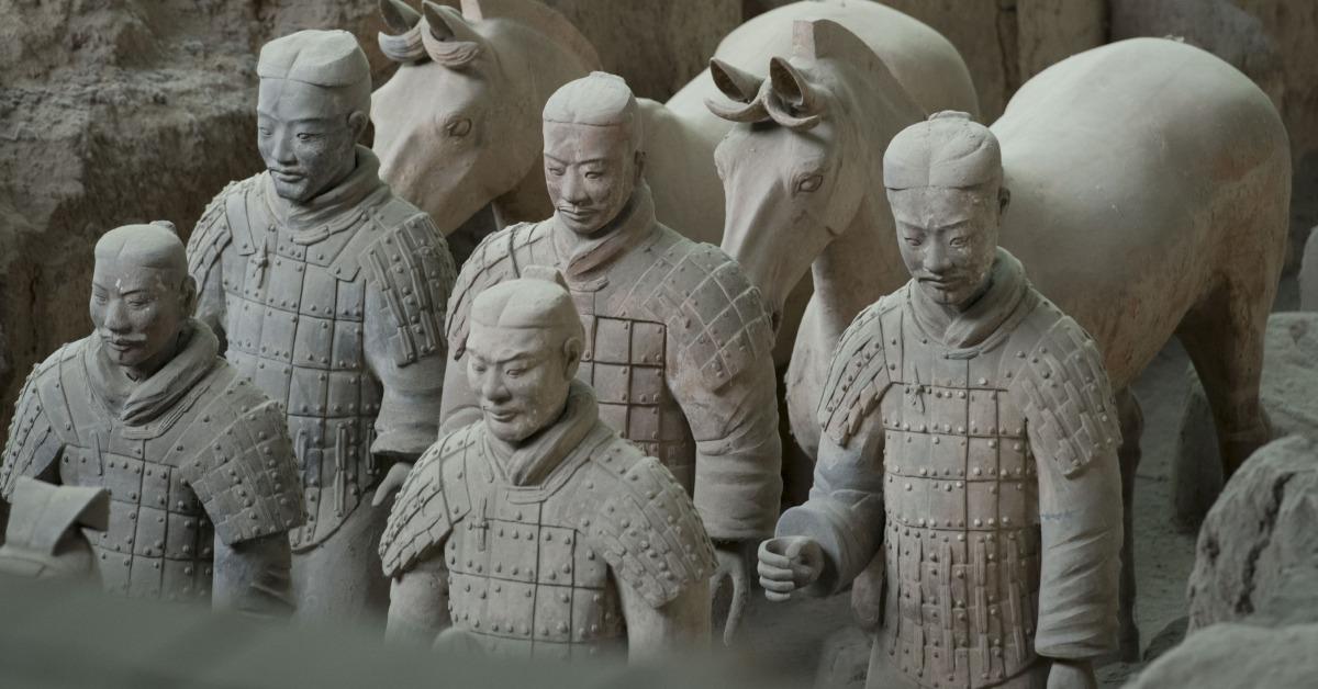 當代中國-當年今日-秦始皇兵馬俑