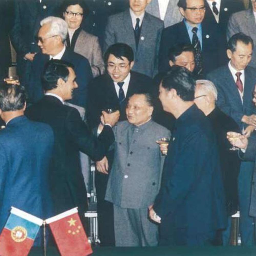 當代中國-當年今日-中葡聯合聲明