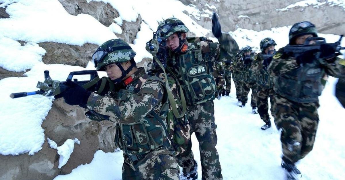 當代中國-當年今日-中國武警