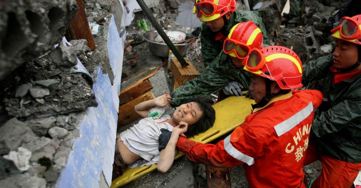 當代中國-當年今日-中國國際救援隊
