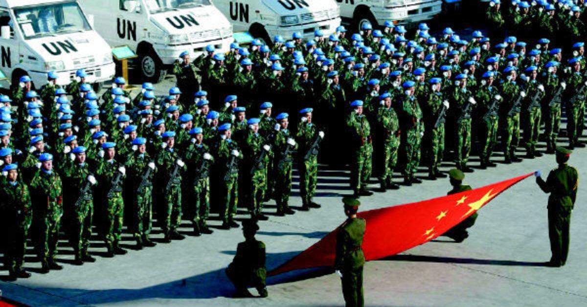 當代中國-當年今日-中國維和部隊