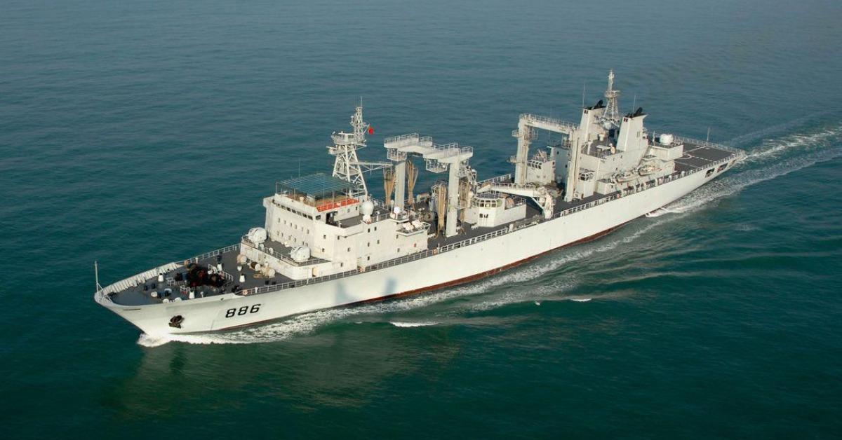 當代中國-當年今日-中國海軍艦艇
