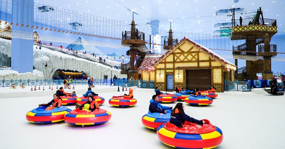 當代中國-旅遊風物-廣州融創雪世界