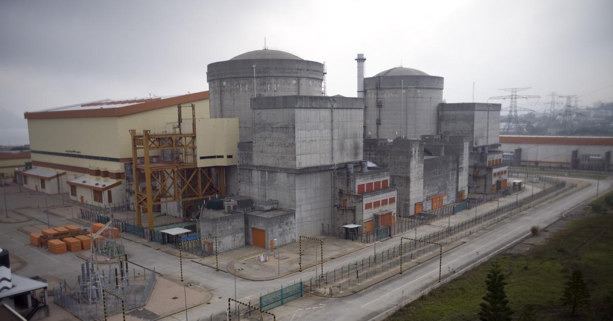 當代中國-當年今日-嶺澳核電站
