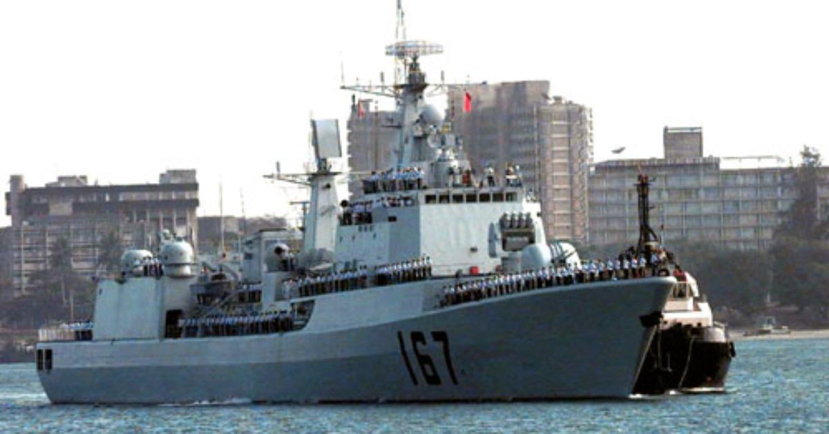 當代中國-當年今日-海軍出訪