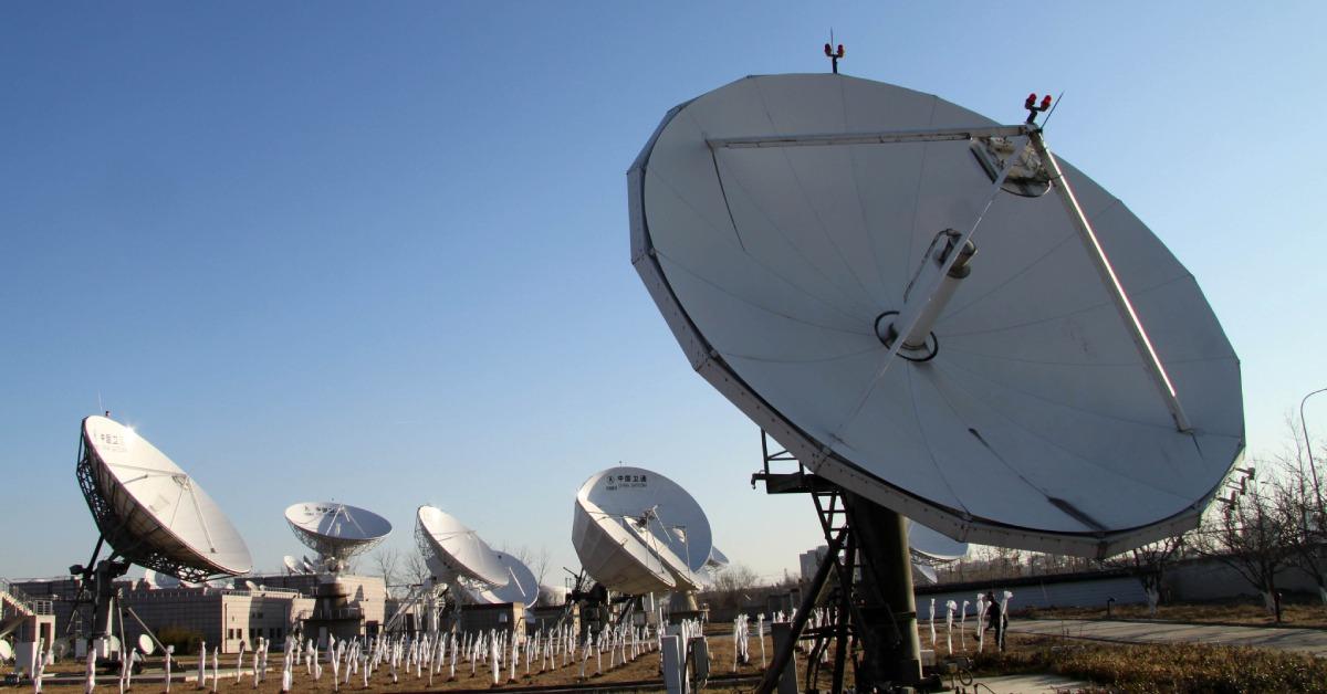 當代中國-當年今日-衛星通信網