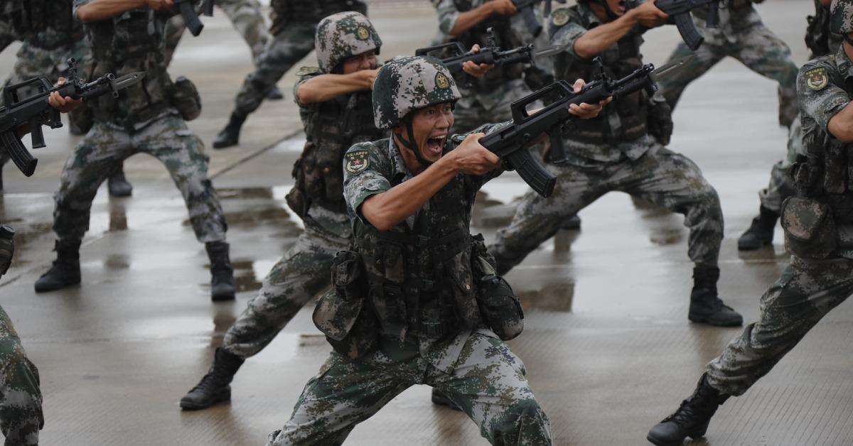 當代中國-當年今日-解放軍