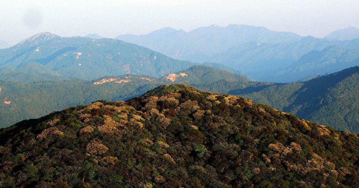 中國旅遊-廣東第一高峰-石坑崆