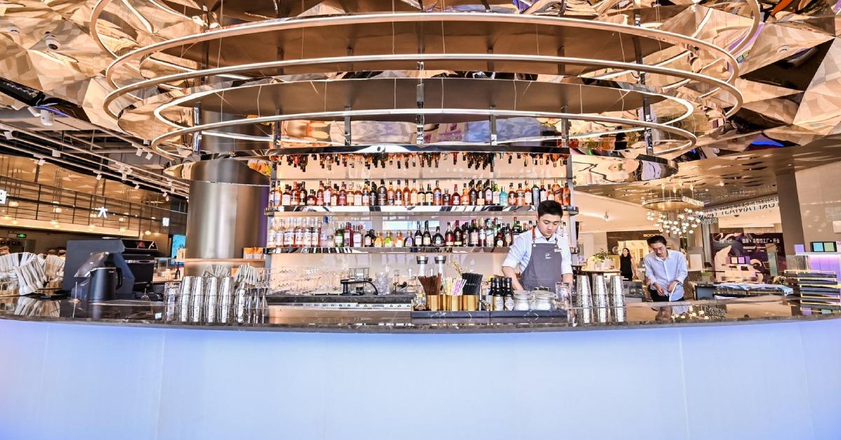 奈雪的茶上市-門店設計