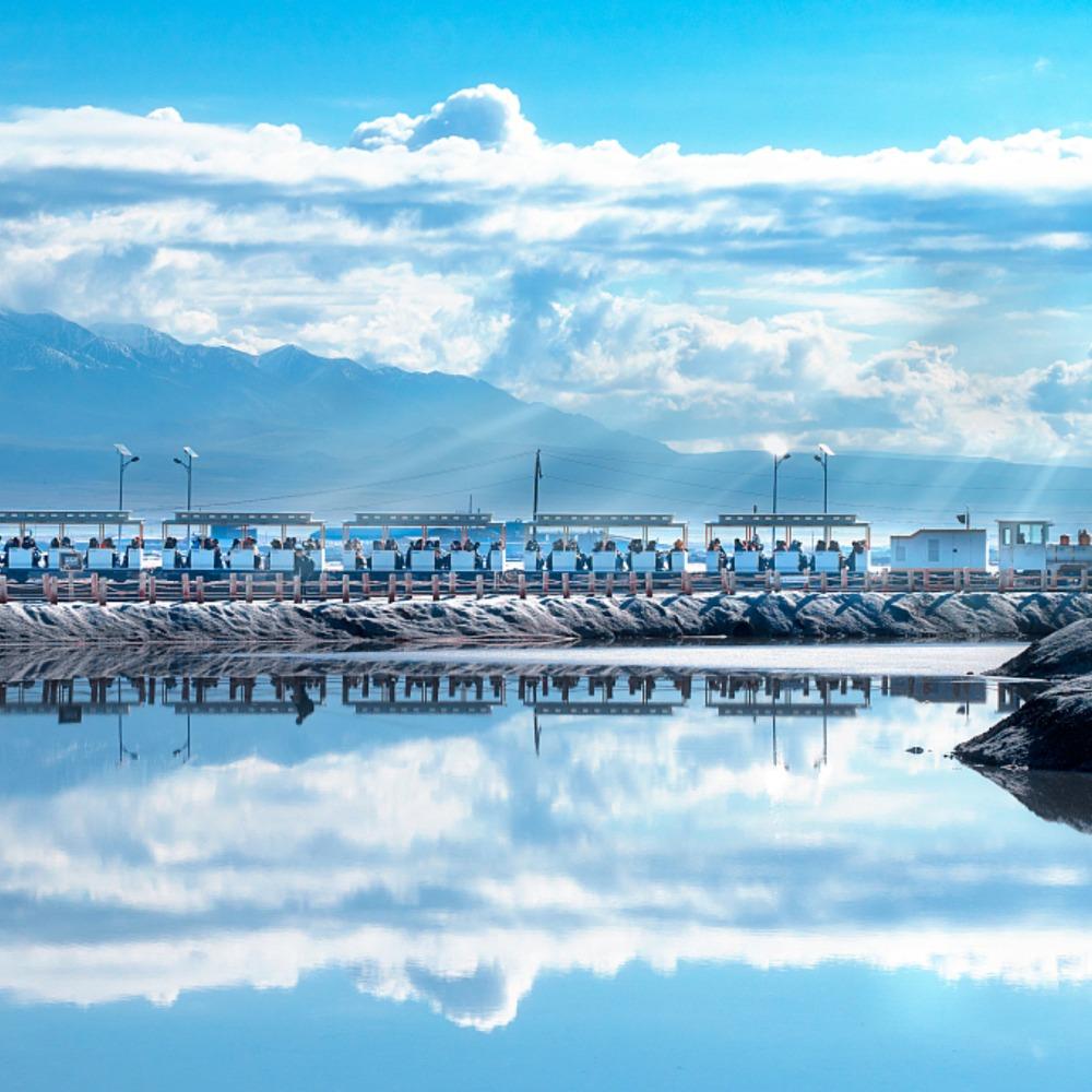 當代中國-旅遊風物-茶卡鹽湖