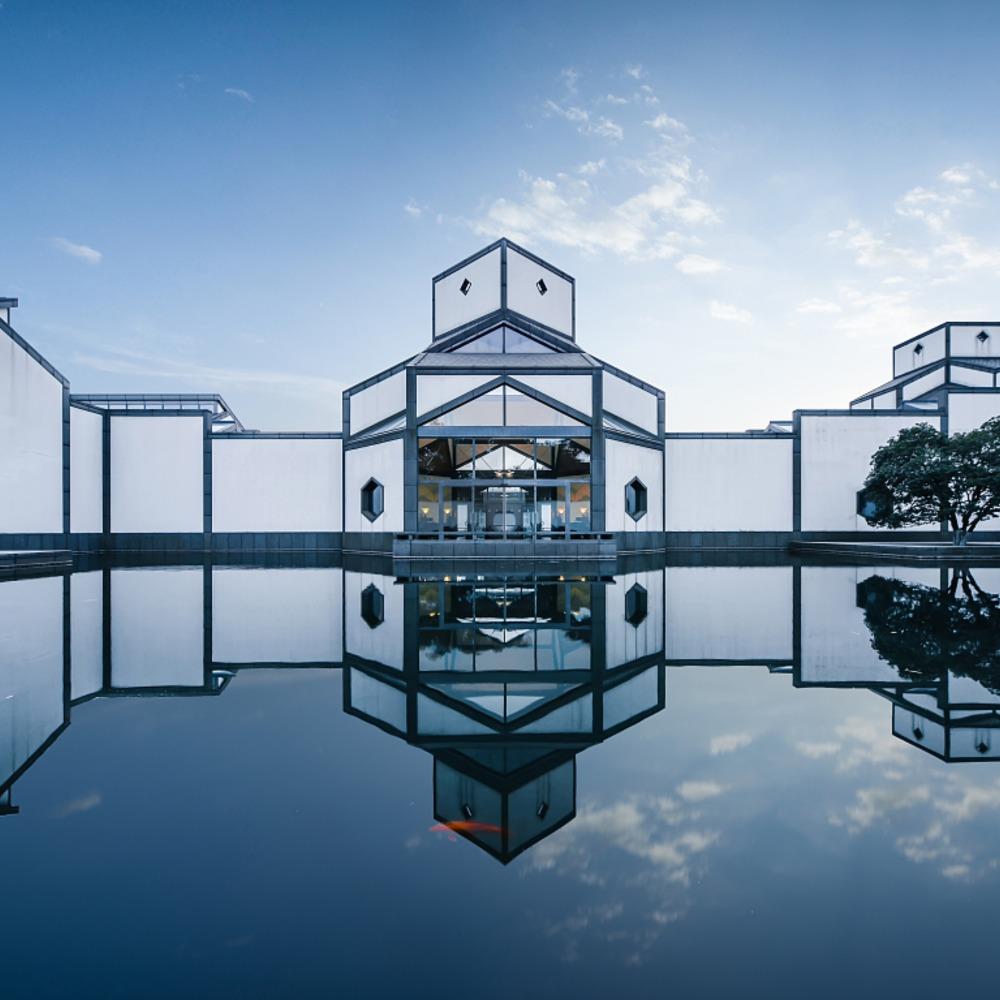 當代中國-潮遊生活-旅遊風物-蘇州博物館
