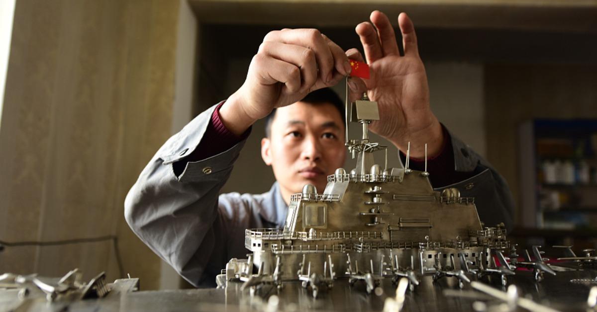 當代中國-潮流中國-不鏽鋼航母