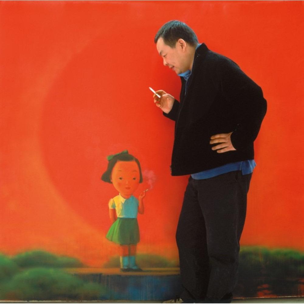當代中國-中國藝術-劉野的《煙》以5218.2萬港元刷新拍賣紀錄,他個人亦成為2019年最暢銷的中國當代藝術家。