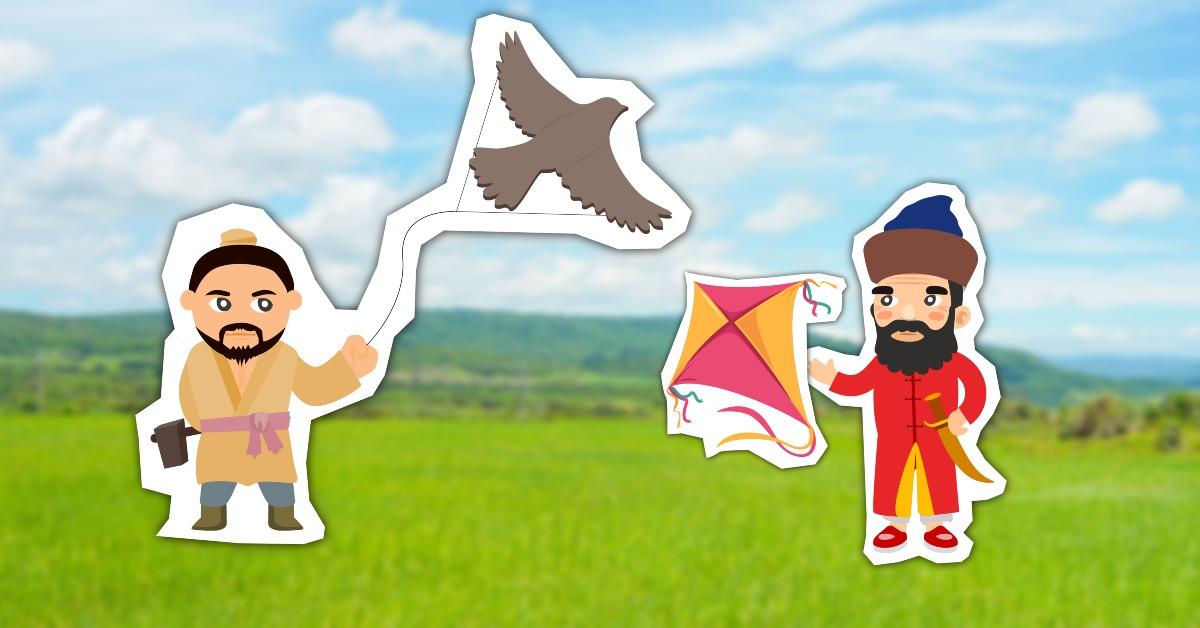 中國文化-放風箏